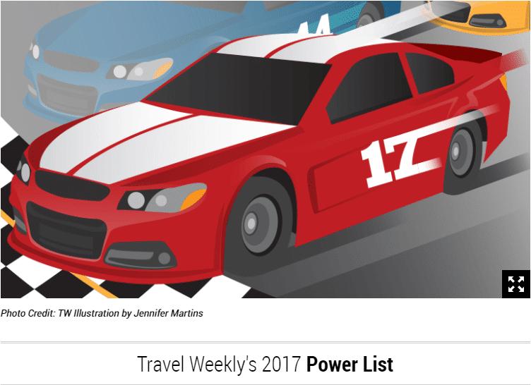 Arrivia, ICE Ranked on Travel Weekly's Powerlist 2017