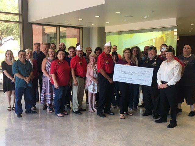 Arrivia, ICE Presents $20,000 Donation to Operation Comfort Warriors