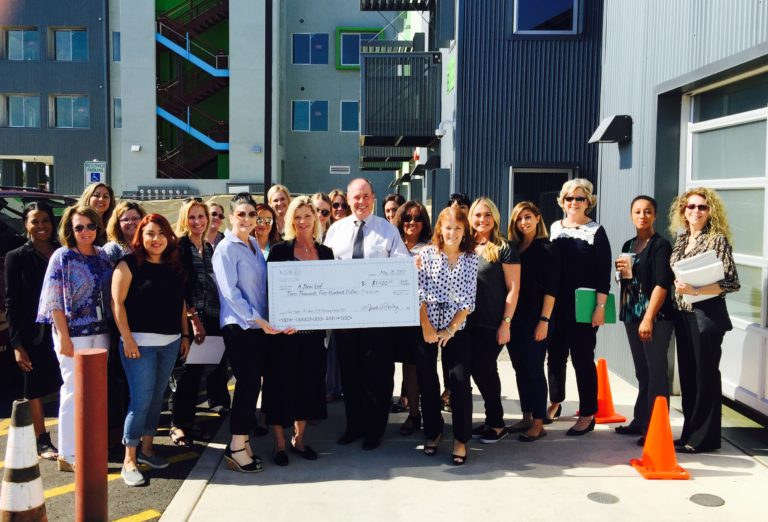 Arrivia, ICE WOW Team Visits, and Donates to, A New Leaf