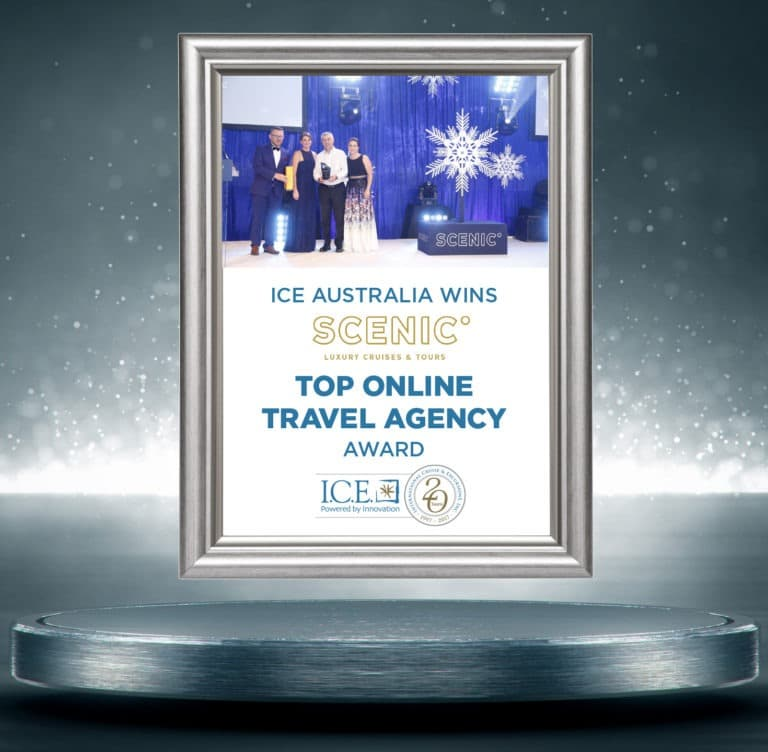 Arrivia, ICE Australia Team Wins Prestigious Scenic Award