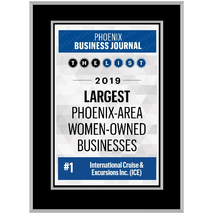 Arrivia, ICE Tops Women-Owned Businesses List Again
