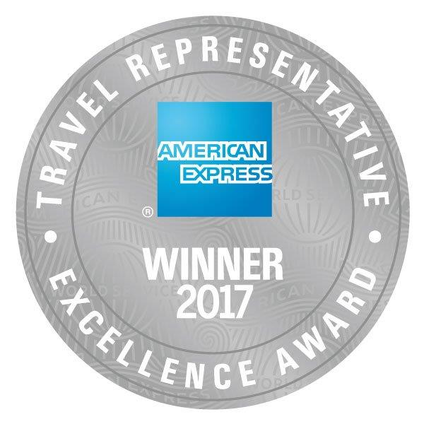 Arrivia, ICE Wins 2017 Travel Representative Excellence Award From American Express Travel
