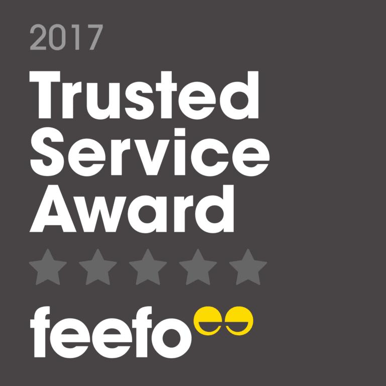 Arrivia, ICE Australia wins Feefo 2017 Trusted Service Award